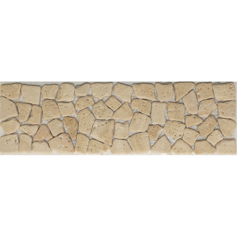 Decor8 tiles 333 x 100mm crazypave travertino light marble for Decor8 tiles