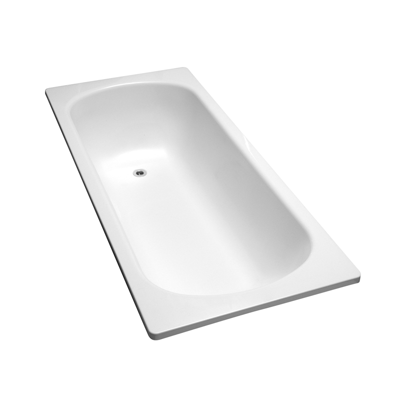. Caroma Marina 1700 White Bath   Bunnings Warehouse