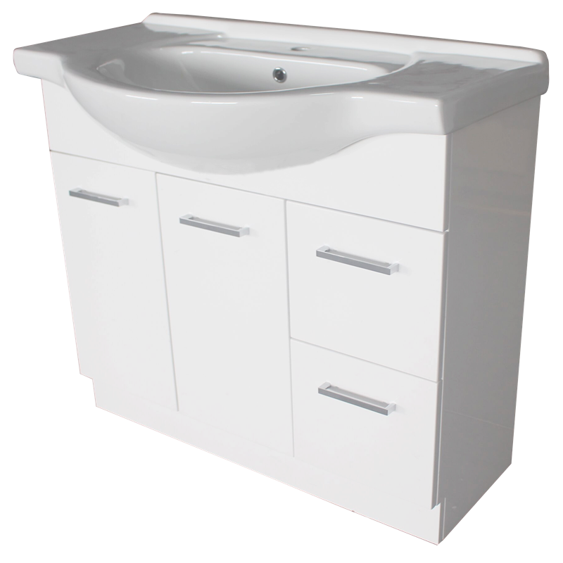 bathroom sinks bunnings estilo 900mm semi recessed vanity cabinet only 11464