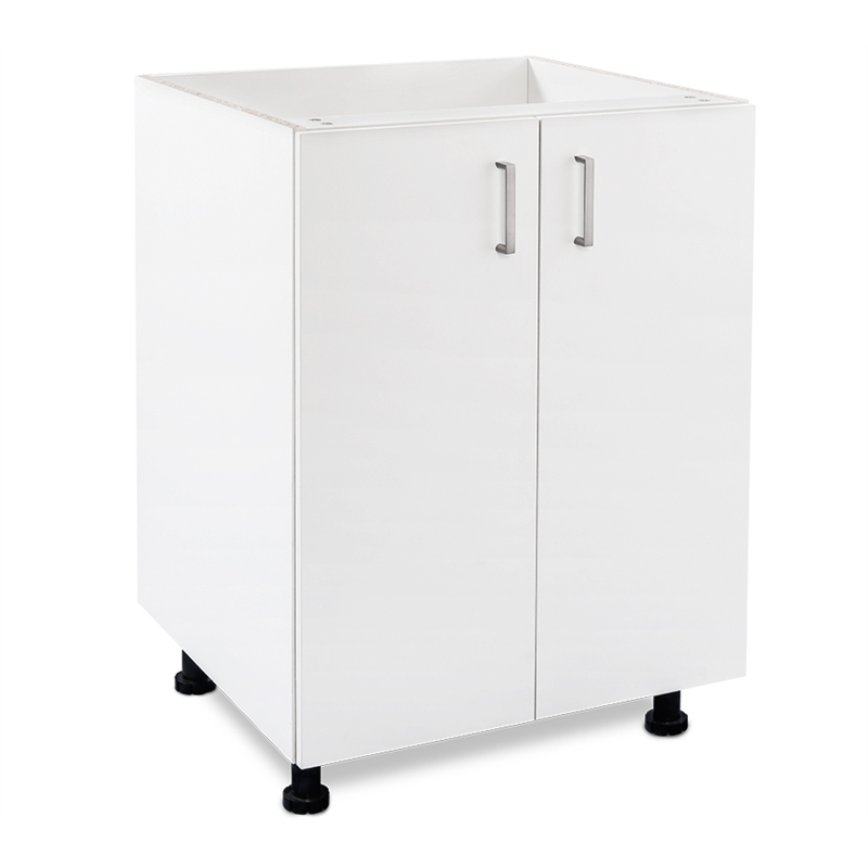 Flatpax Utility 600mm 2 Door Base Cupboard | Bunnings Warehouse