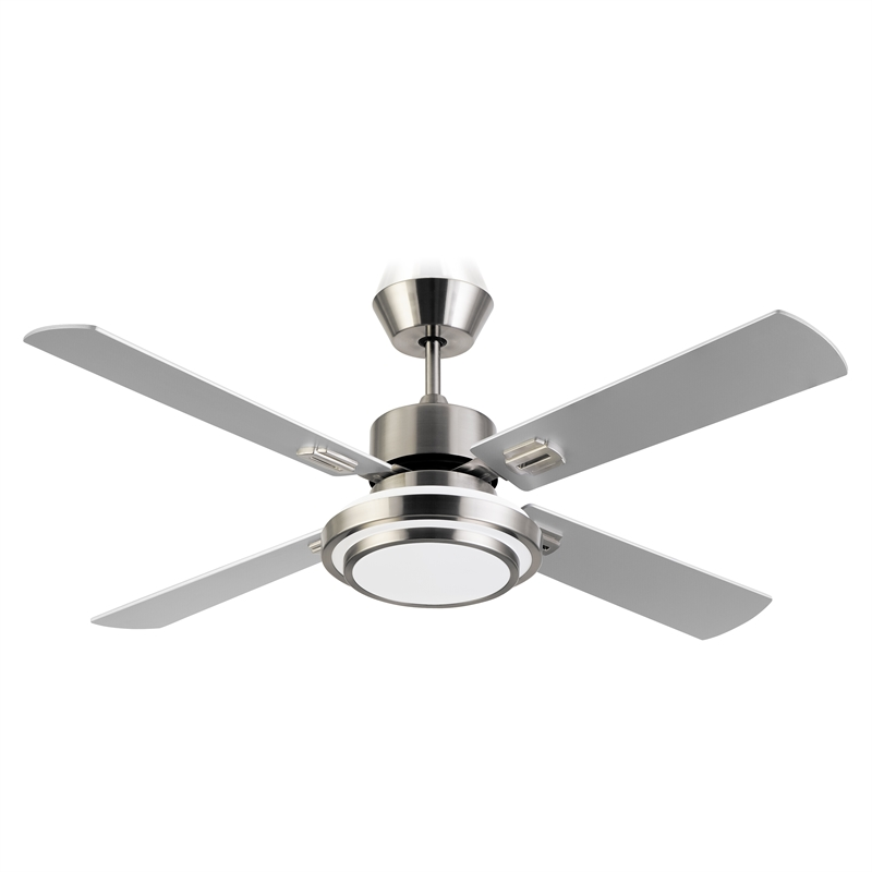 Arlec 130cm 4 Blade Sweep Ceiling Fan With 16W LED Light