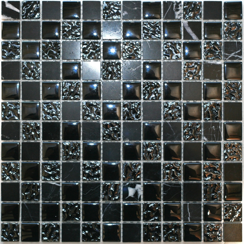 Bunnings decor8 tiles decor8 tiles 300 x 300 x 8mm nero for Decor8 tiles