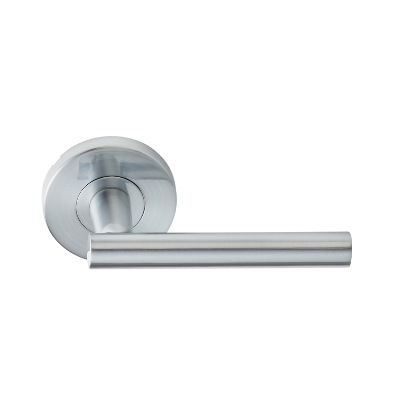 Delf Trade Bright Chrome Prato Dummy Lever Set Bunnings