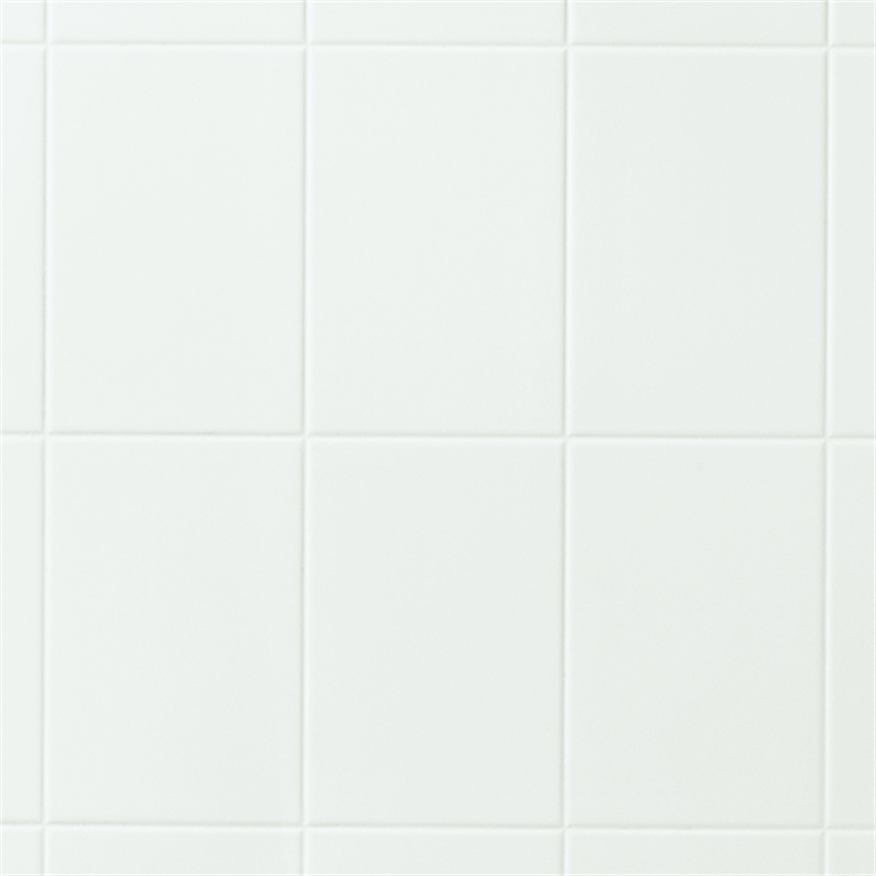 Wall Art 2400 x 1200mm 3mm Designer White Wet Area Wall Panel