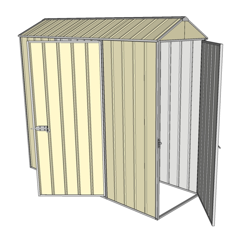 Build a shed 0 8 x 2 3 x gable single hinged side for 12x8 shed with side door