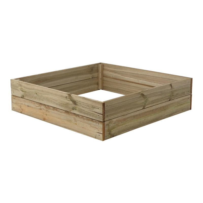 Bedford 120 x 120 x 31cm ACQ Treated Pine Raised Garden Bed