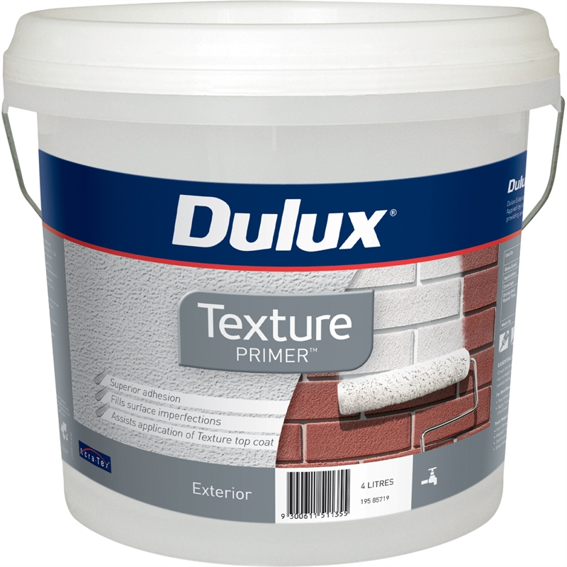 Paint And Primer >> Dulux Texture 4l Primer Paint Bunnings Warehouse