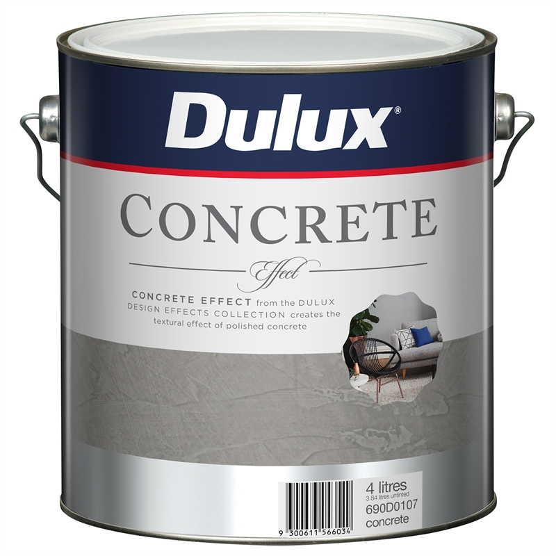 Dulux 4l Design Concrete Effect Paint Bunnings Warehouse