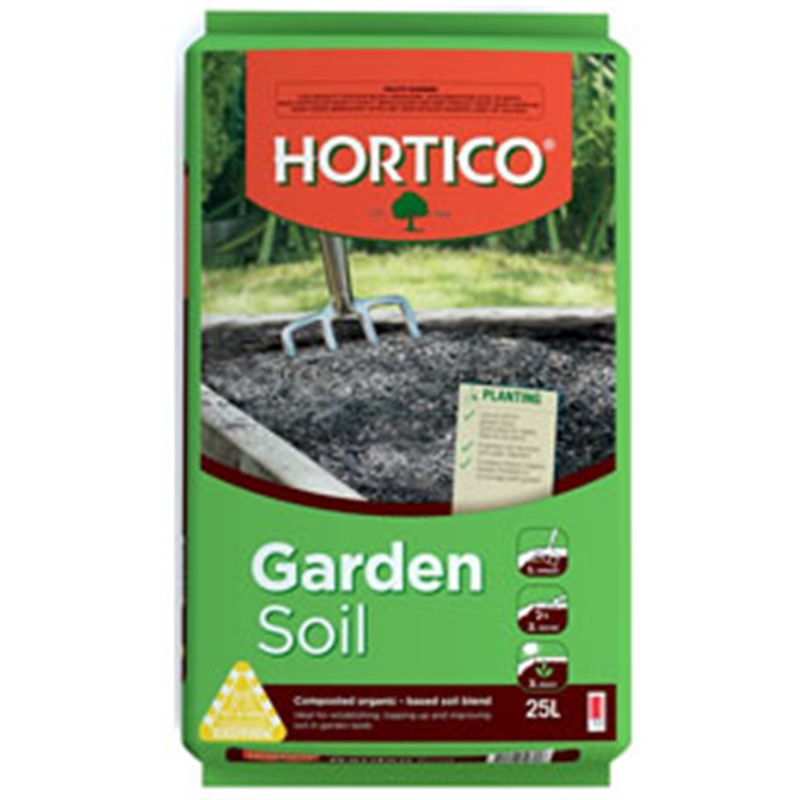 Hortico 25l garden soil improver bunnings warehouse for Soil improver