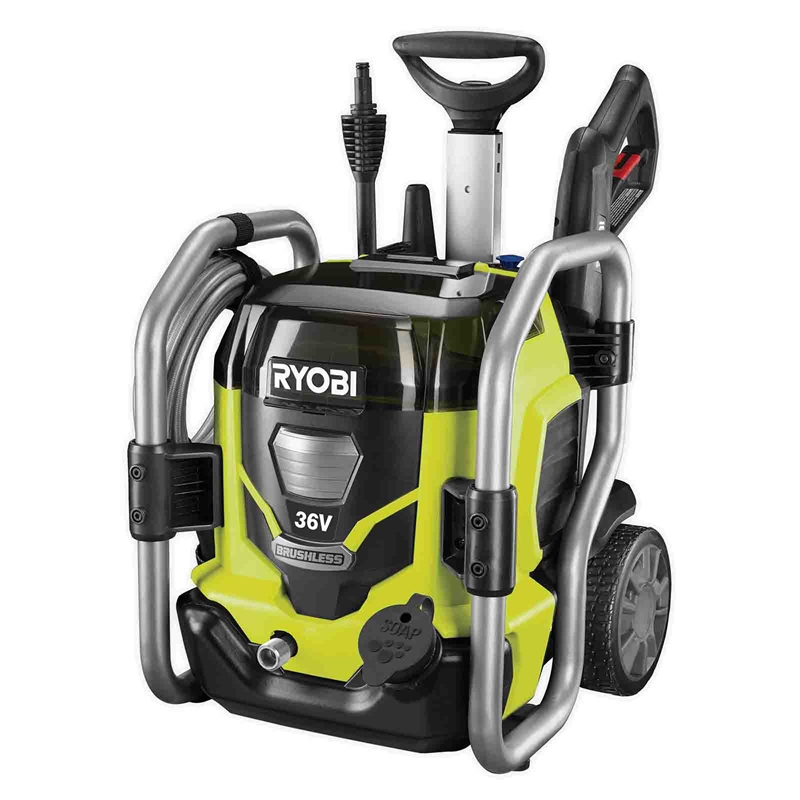 Ryobi 36v Pressure Washer 5 0ah Kit Bunnings Warehouse