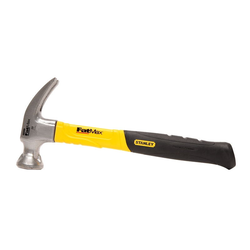 Stanley FatMax 560g / 20oz Large Strike Claw Hammer | Bunnings Warehouse