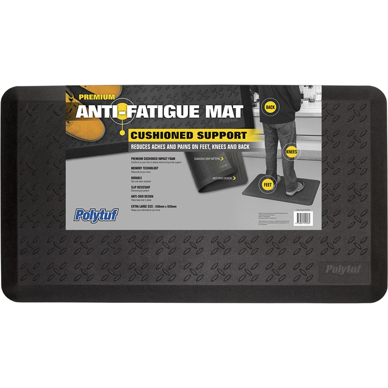 Polytuf 550 X 920mm Anti Fatigue Mat Bunnings Warehouse