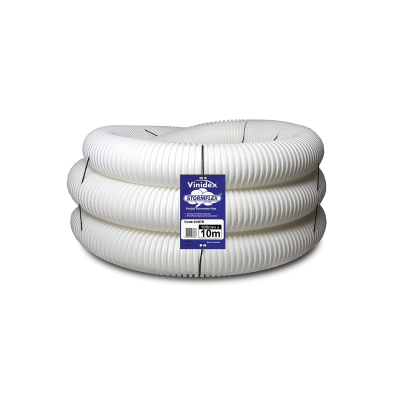 Vinidex 100mm x 10m StormFlex Pipe