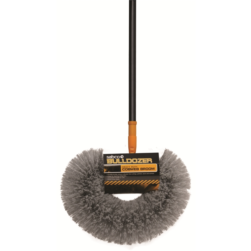 Sabco Bulldozer Cobweb Broom With Telescopic Handle Ebay