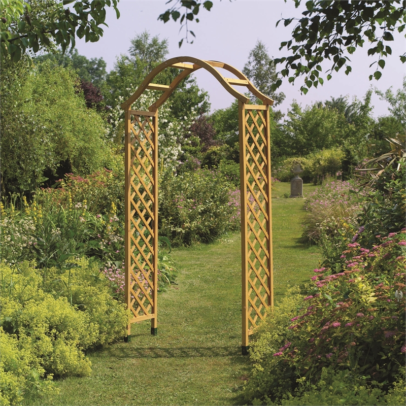 Gardman 2180mm Elegance Garden Arch Bunnings Warehouse