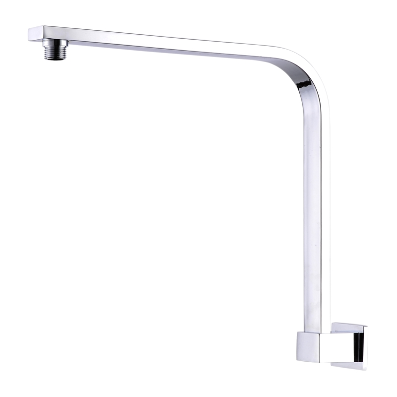 Rococo 300mm Chrome Plated Curved Wall Shower Arm