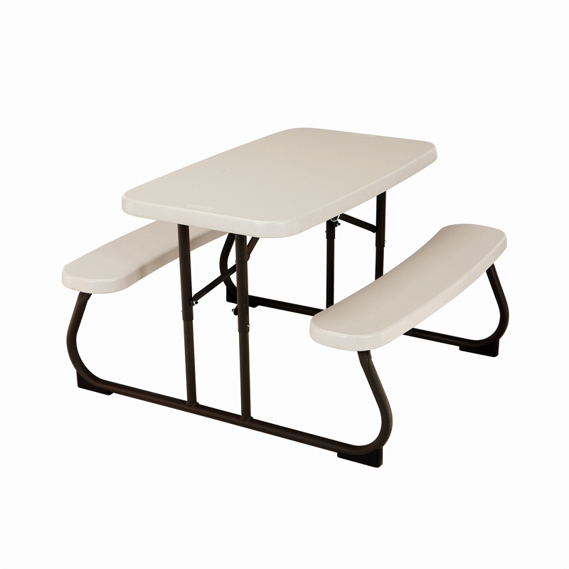 Lifetime 825cm Childrens Blow Mould Picnic Table
