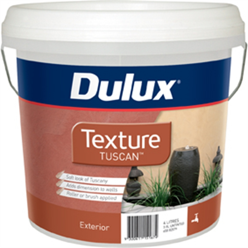 Dulux Texture 4l Tuscan Effects Exterior Paint Bunnings Warehouse