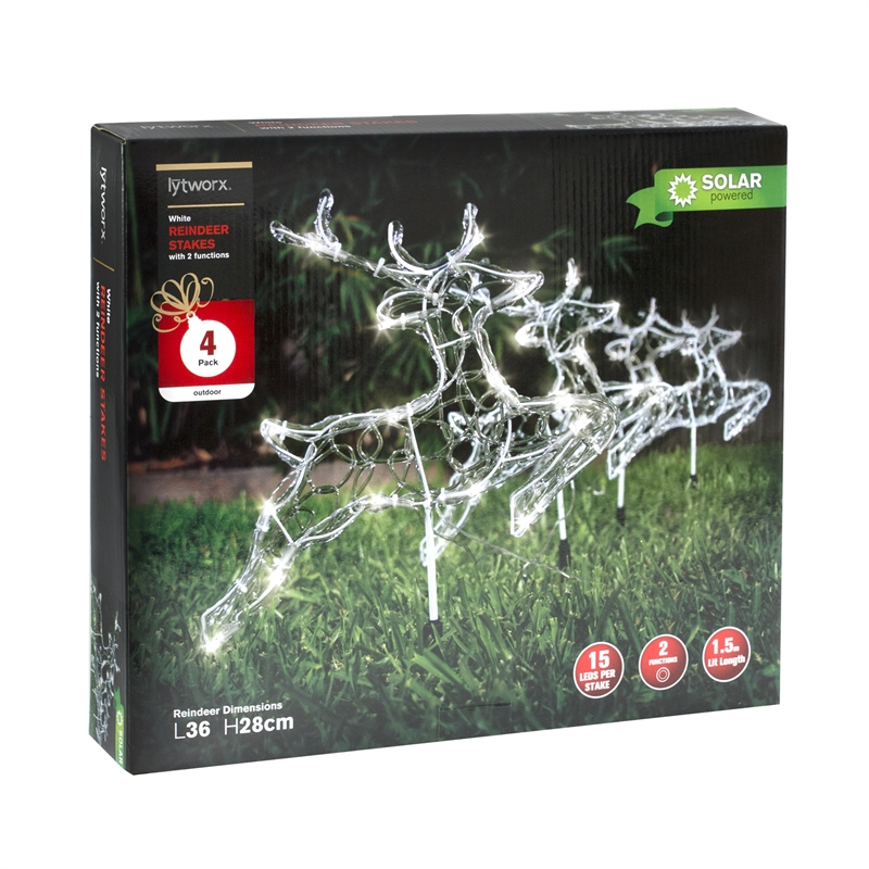 Christmas Solar Lights Available From Bunnings Warehouse Bunnings Warehouse