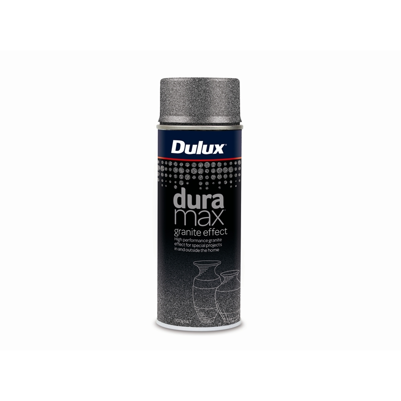 Dulux Duramax 300g Granite Effect Spray Paint Dark Grey