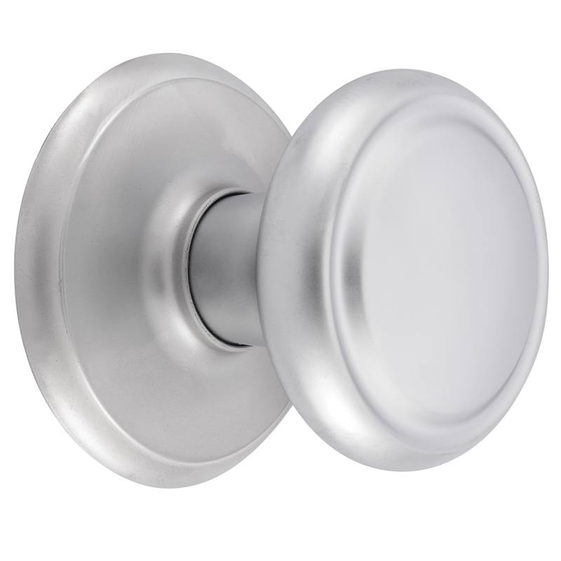 Gainsborough Diplomat Satin Chrome Passage Set | Bunnings Warehouse
