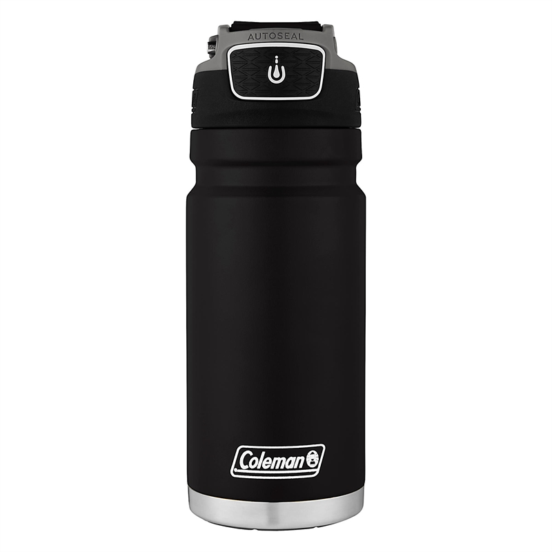 Travel Recharge Steel Stainless Mug Autoseal Coleman 500ml LRjA354