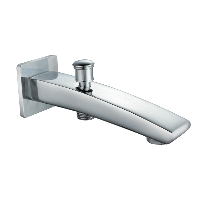 Shaw & Mason 165mm Chrome Bath Spout With Divertor | Bunnings Warehouse