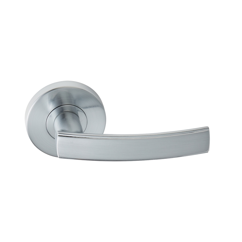 Delf Trade Satin Chrome Liera Dummy Lever Set Bunnings