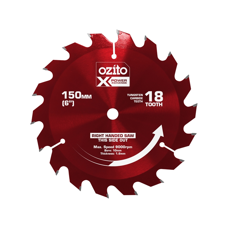 Ozito power x change 150mm 18 tooth circular saw blade bunnings about ozito power x change 150mm 18 tooth circular saw blade greentooth Image collections