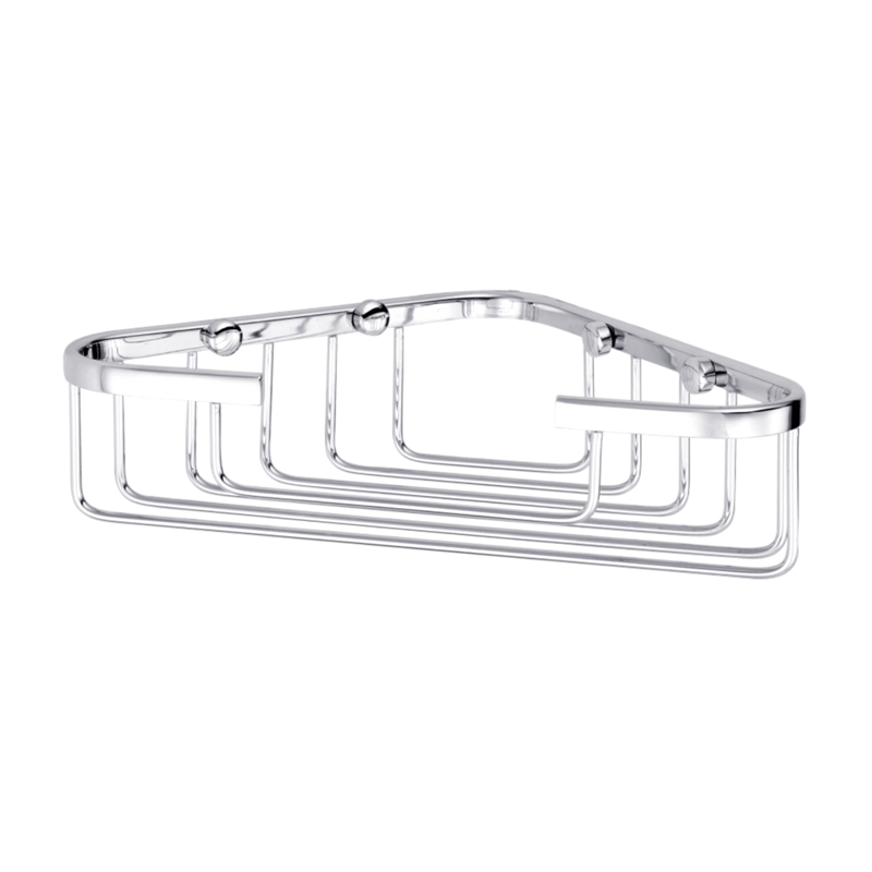 Resonance 230mm Chrome Corner Basket