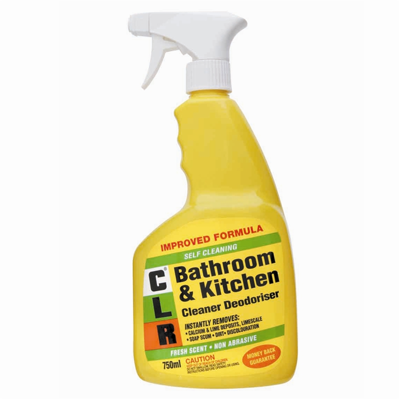 Clr 750ml Bathroom And Kitchen Cleaner Bunnings Warehouse