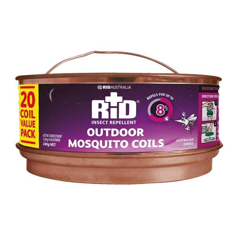 Rid Mosquito Repel Coils 20 Pack