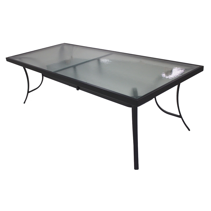 240 x 100cm Aluminium Manor Dining Table