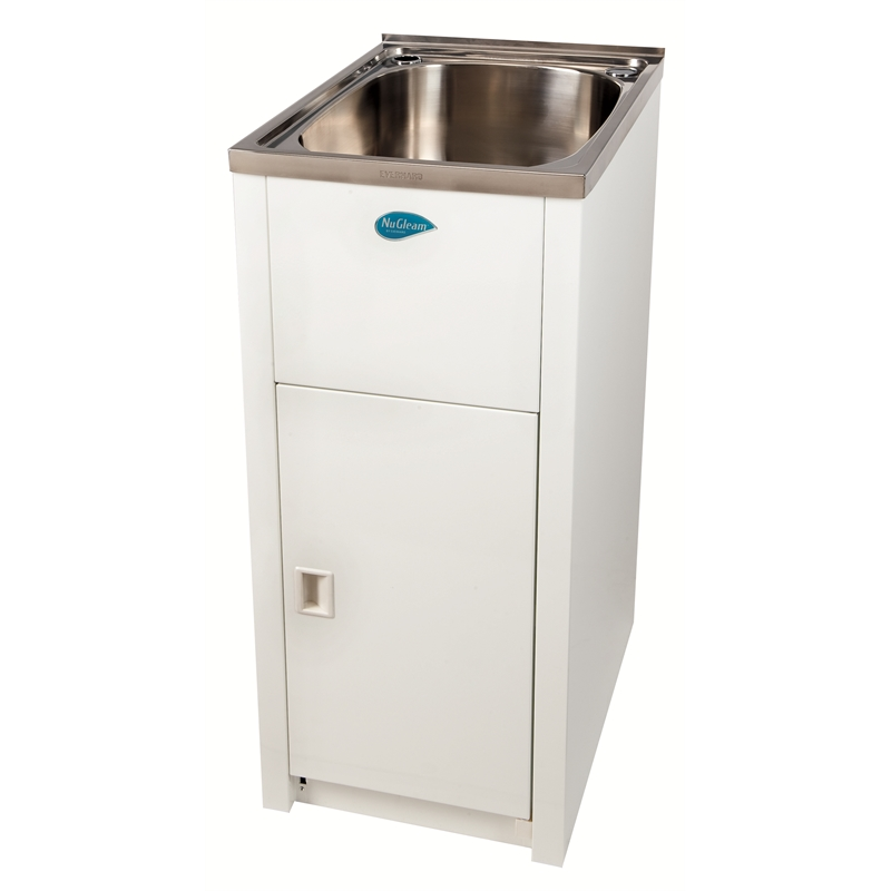 White Laundry Trough : Everhard 30L NuGleam Mini Laundry Trough And Cabinet I/N 4760690 ...