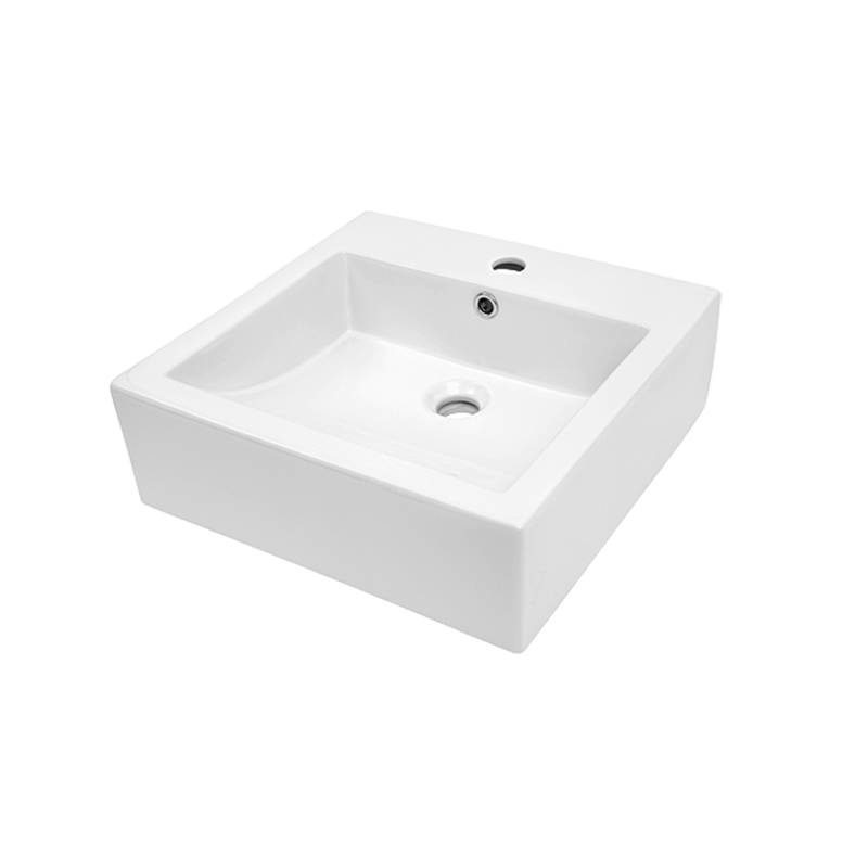 Azzurra 1TH White Above Counter Cube Basin. Azzurra 1TH White Above Counter Cube Basin   Bunnings Warehouse