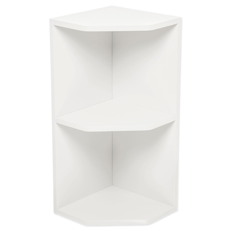 Kaboodle gloss white open end wall cabinet bunnings for Gloss white kitchen wall cabinets