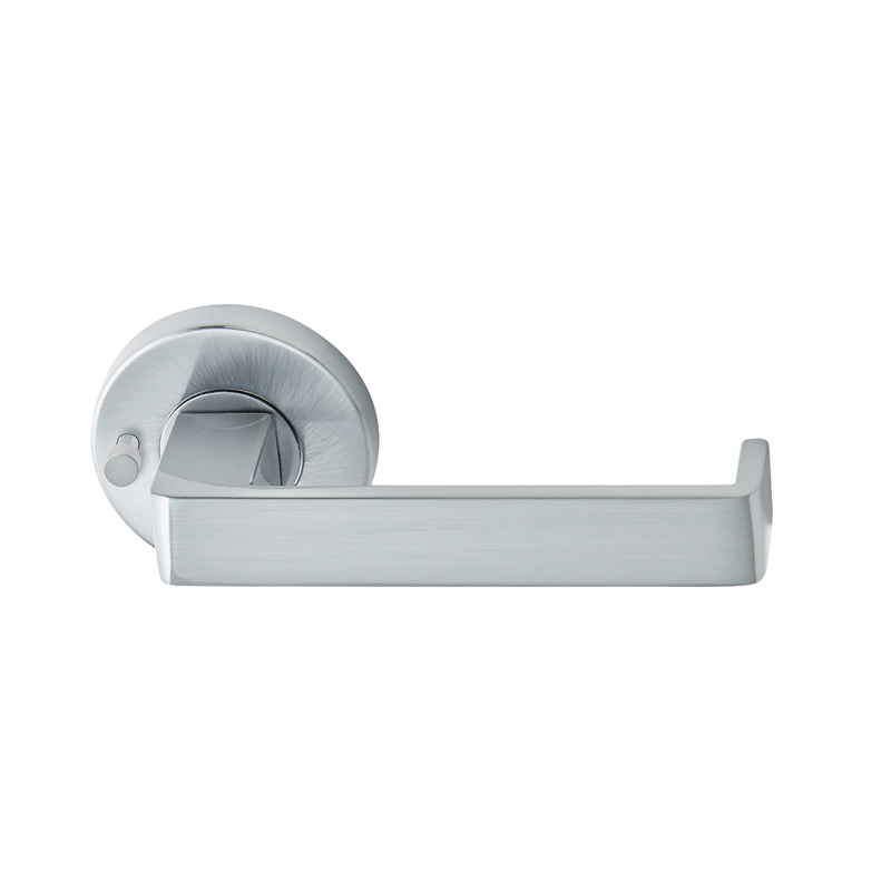 Delf Trade Bright Chrome Cadiz Privacy Lever Set