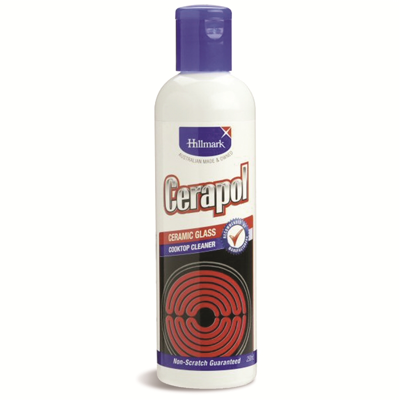 Hillmark 250ml Cerapol Ceramic Cooktop Cleaner Bunnings