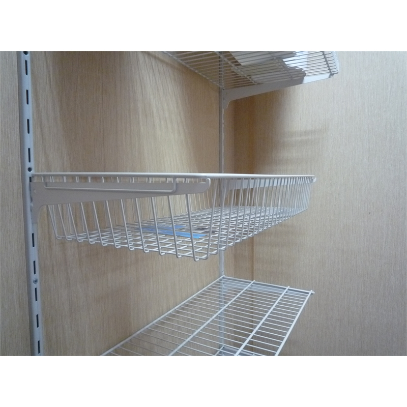 handy storage 800 x 350 x 117mm wire basket shelving. Black Bedroom Furniture Sets. Home Design Ideas