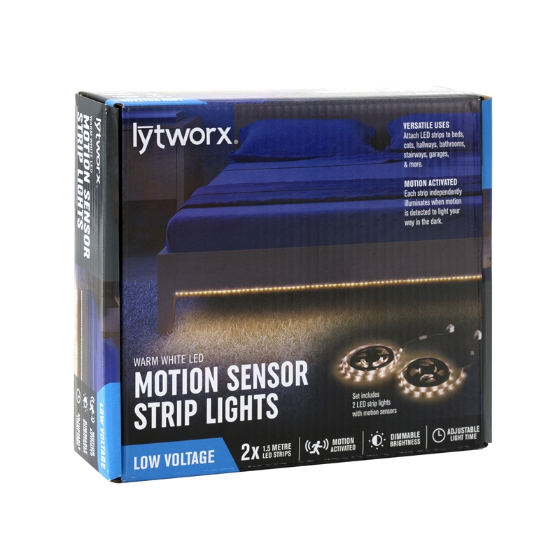 Lytworx Motion Sensor Strip Lights