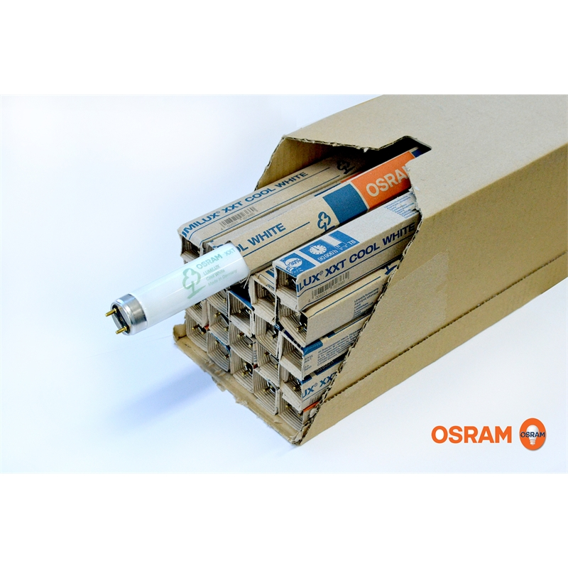 Surréaliste Osram 120cm 36W Cool White Lumilux Fluorescent Tube - 25 Pack VJ-13