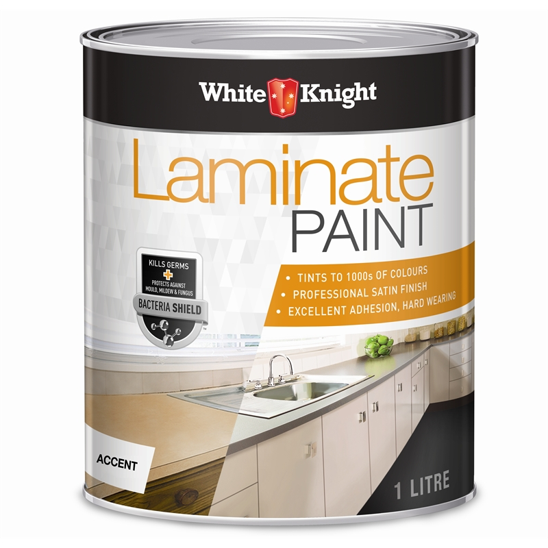 White Knight Laminate Paint Bunnings