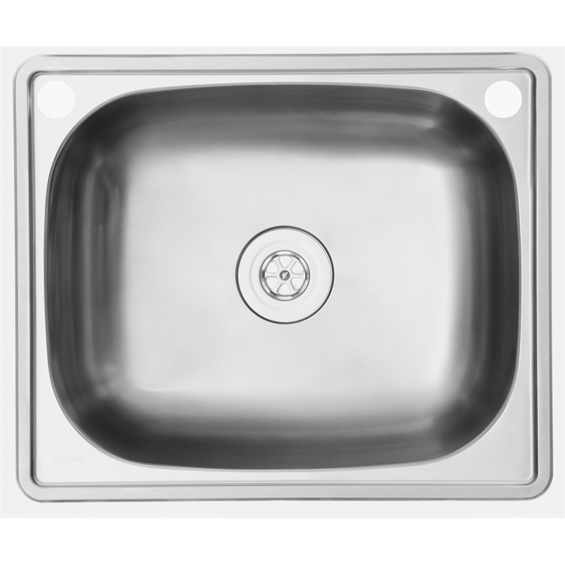 Blanco 60cm 45L Stainless Steel Jarah Laundry Sink | Bunnings Warehouse