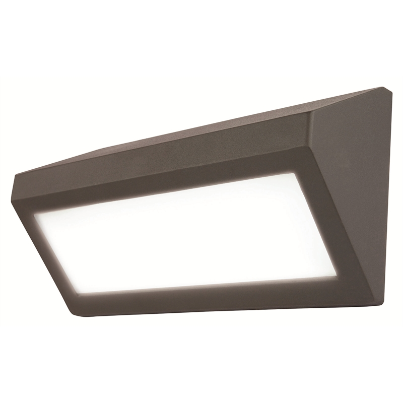 Brilliant Berwick Charcoal Wedge Bunker Exterior Wall Light