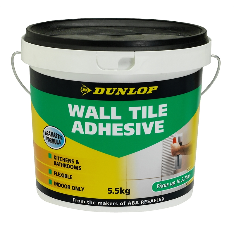 Dunlop 5 5kg Wall Tile Adhesive Bunnings Warehouse