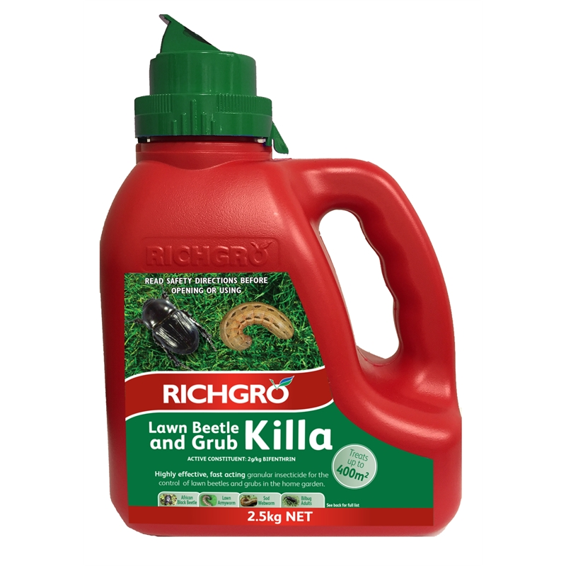 Richgro 2 5kg Lawn Beetle And Grub Killa At Bunnings Warehouse In Cessnock Nsw