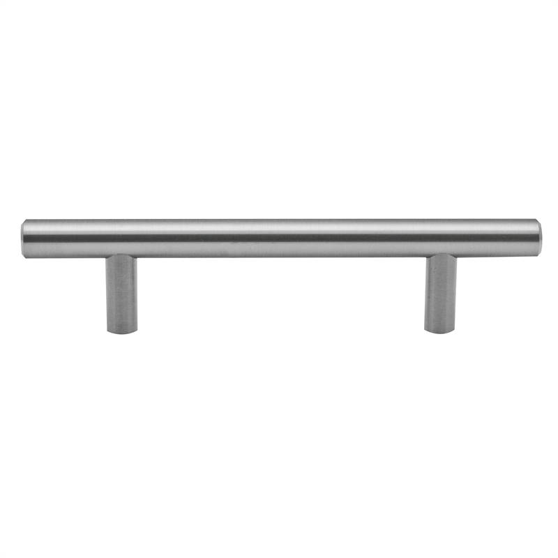 Prestige 96mm Brushed Stainless Steel Round Pull Handle | Bunnings ...
