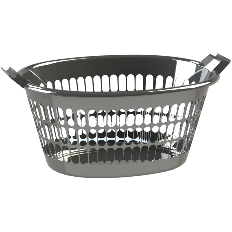 HomeLeisure 35L Oval Trend Laundry Basket  sc 1 st  Bunnings Warehouse & HomeLeisure 35L Oval Trend Laundry Basket | Bunnings Warehouse
