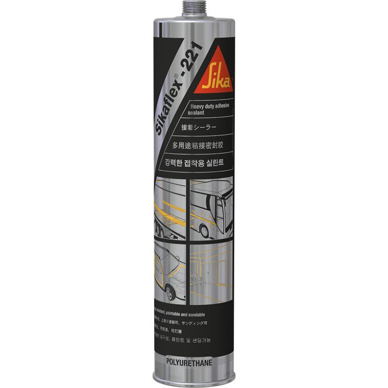 sika 310ml sikaflex 221 black all purpose sealant. Black Bedroom Furniture Sets. Home Design Ideas