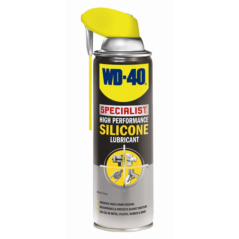 wd 40 specialist 300g high performance silicone lubricant. Black Bedroom Furniture Sets. Home Design Ideas